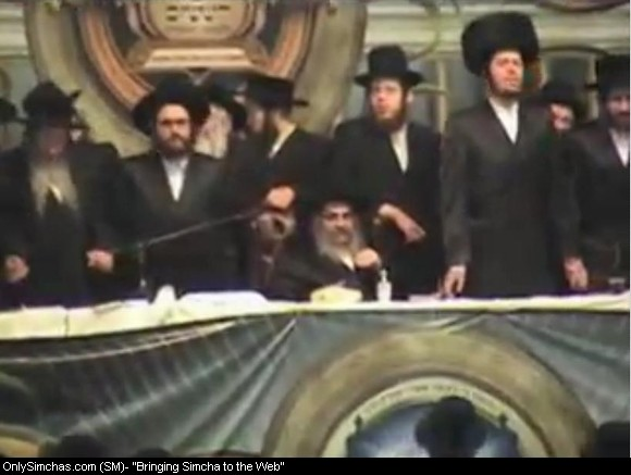 "me with the Satmar Rebbe, shlit""a"