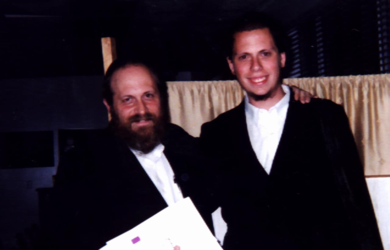 with Rabbi Moshe Weinberger